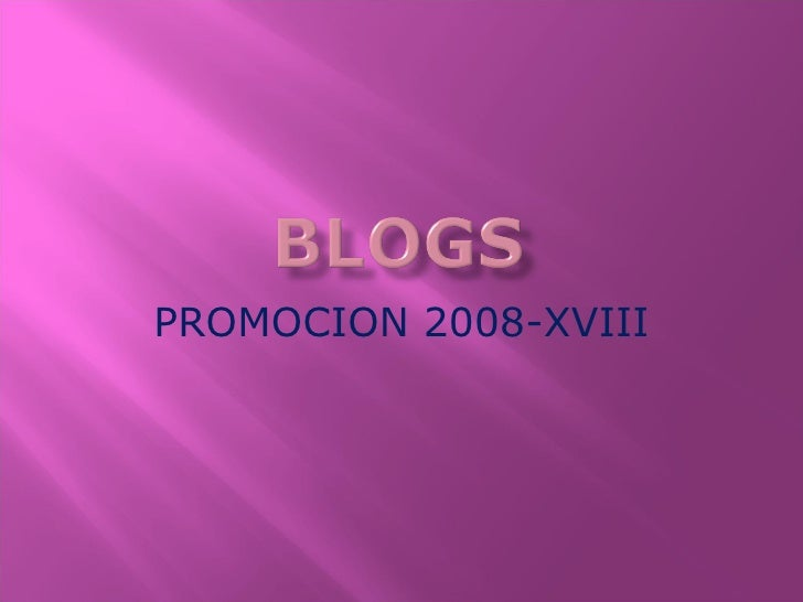 PROMOCION 2008-XVIII