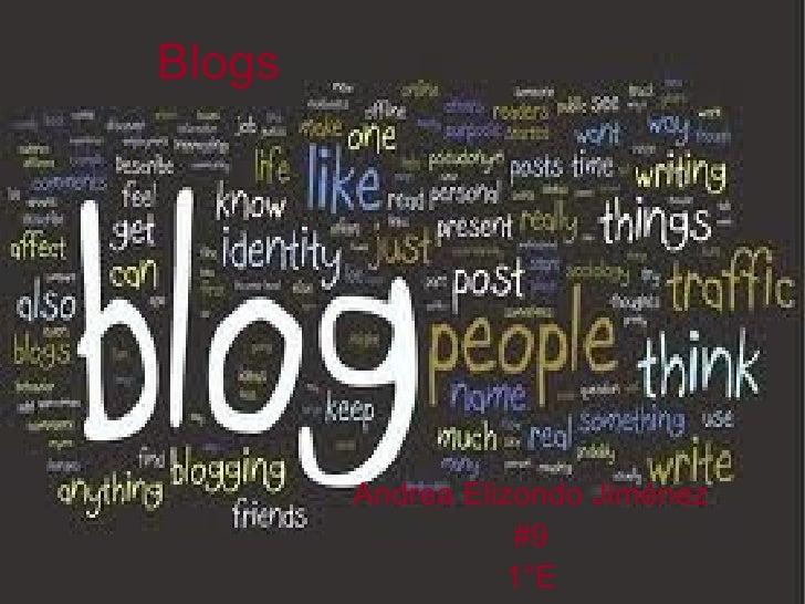 Blogs Andrea Elizondo Jiménez #9 1°E