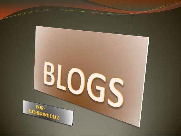¿QUÉ ES UN BLOG EDUCATIVO?  Los weblogs, edublogs, blogs o bitácoras son sitios web donde se publican de forma cronológic...