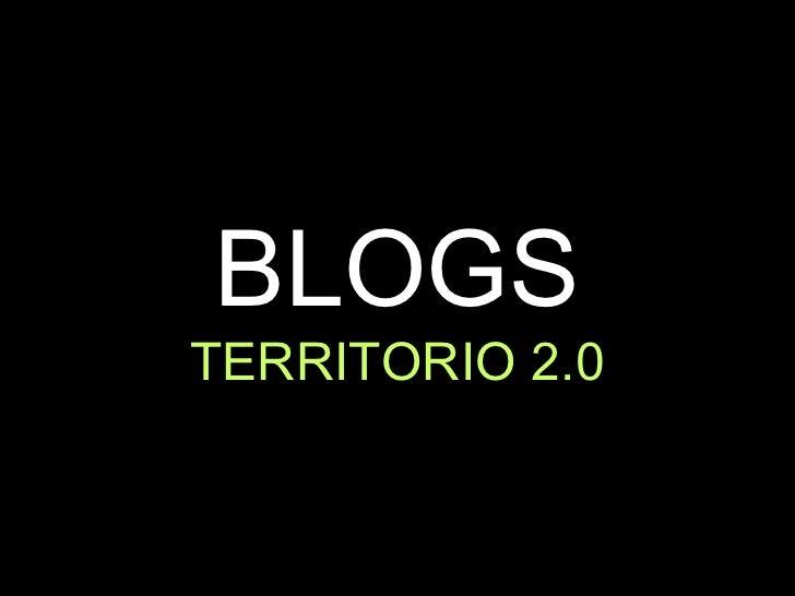 BloGs, territoriO 2.0 (ES)