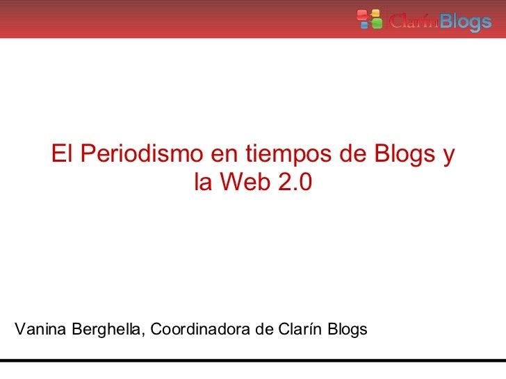 Blogs Clarin Presentacion Mdp Blogday Final