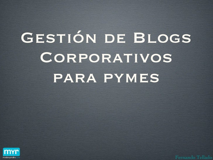 Blogs corporativos para pymes (base)