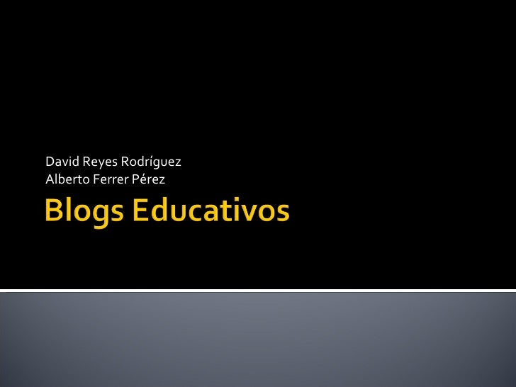 Blogs Educativos Final