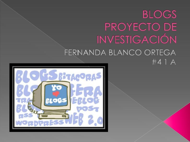 1.    INTRODUCCIÓN2.    DEFINICIONES DE LOS BLOGS3.    DIFERENCIAS ENTRE BLOG, PÁGINA WEB Y FORO4.    CARACTERÍSTICAS DE L...