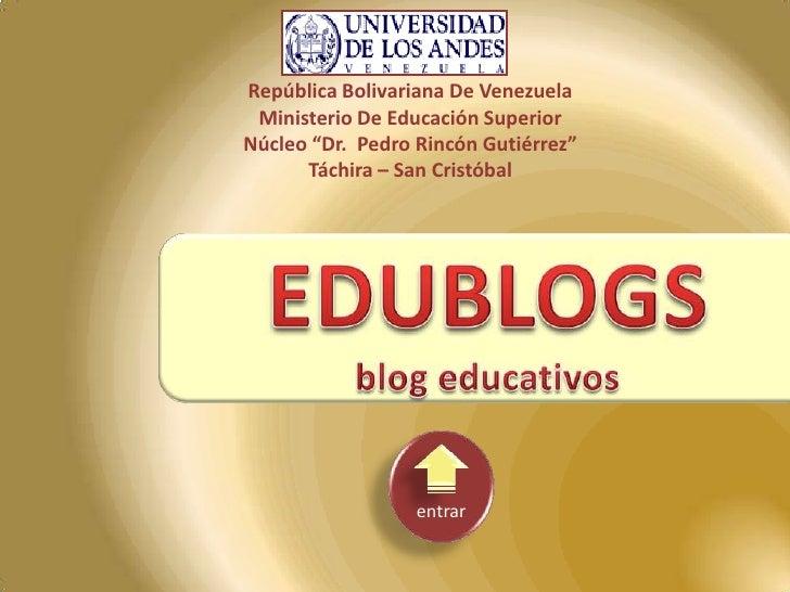 EduBlogs Informatica
