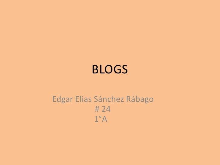 Blogs trabajo eesr# 24