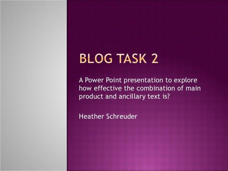 Blog Task 2