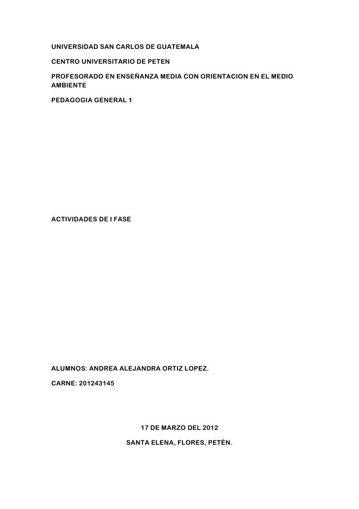 UNIVERSIDAD SAN CARLOS DE GUATEMALACENTRO UNIVERSITARIO DE PETENPROFESORADO EN ENSEÑANZA MEDIA CON ORIENTACION EN EL MEDIO...