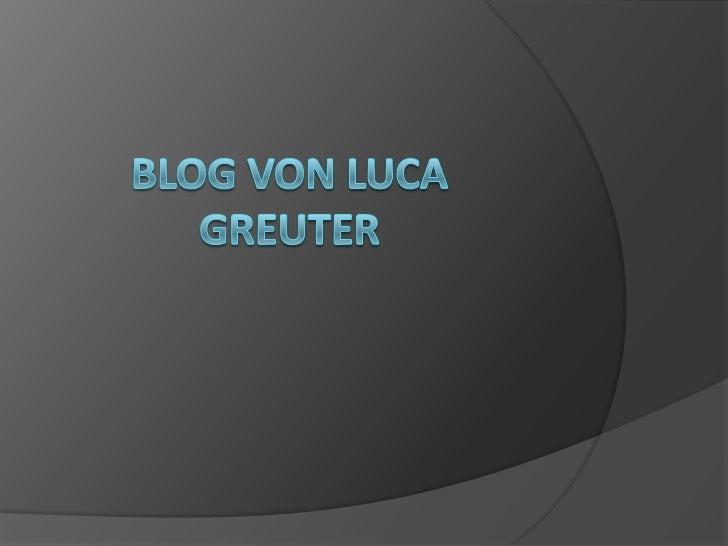 Von Luca Greuter