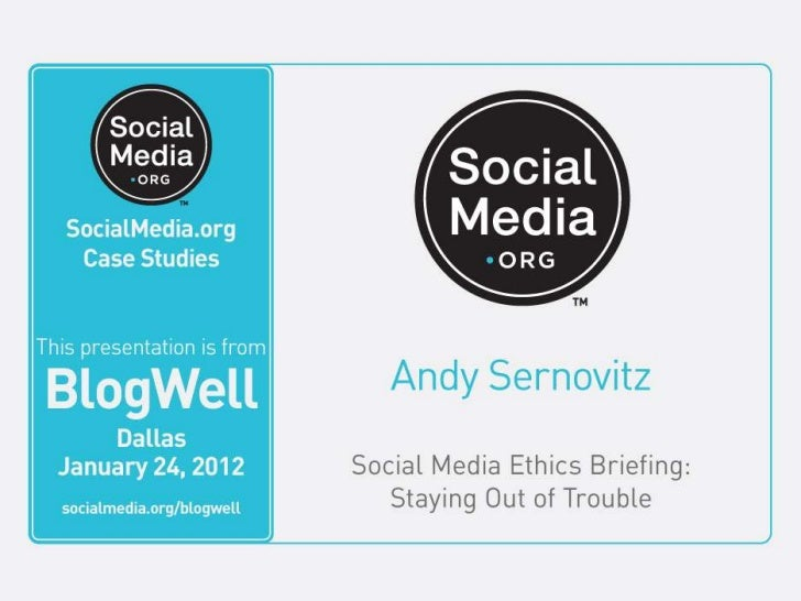Ethics Best Practices            Tweet this! #blogwell