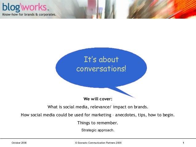 Blog\Works - Talk Sample