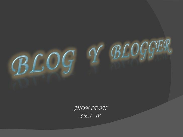 JHON LEON S.E.I  IV