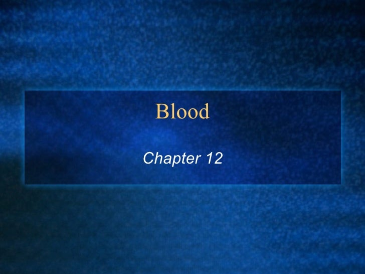 Blood Chapter 12
