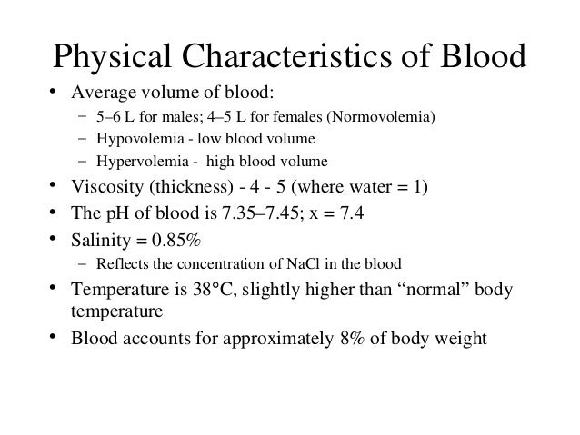 the characteristics roles and components of blood Blood flows throughout the body, carrying oxygen and nutrients and regulating body temperature it is composed of four primary components these are red blood cells, white blood cells, platelets and.