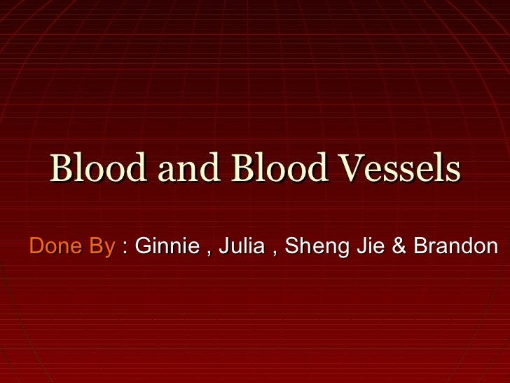 Done By : Ginnie , Julia , Sheng Jie & Brandon