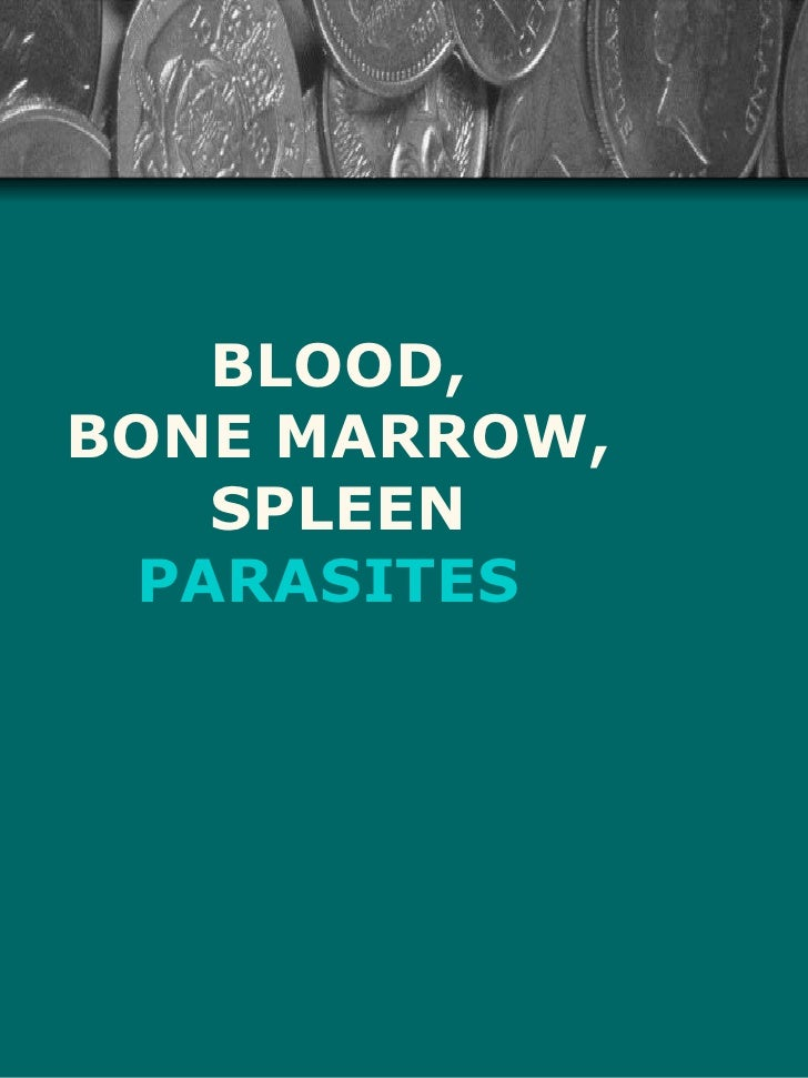 BLOOD,BONE MARROW,   SPLEEN PARASITES