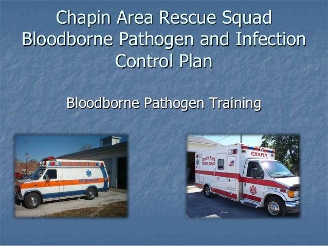 Bloodborne pathogens refresh