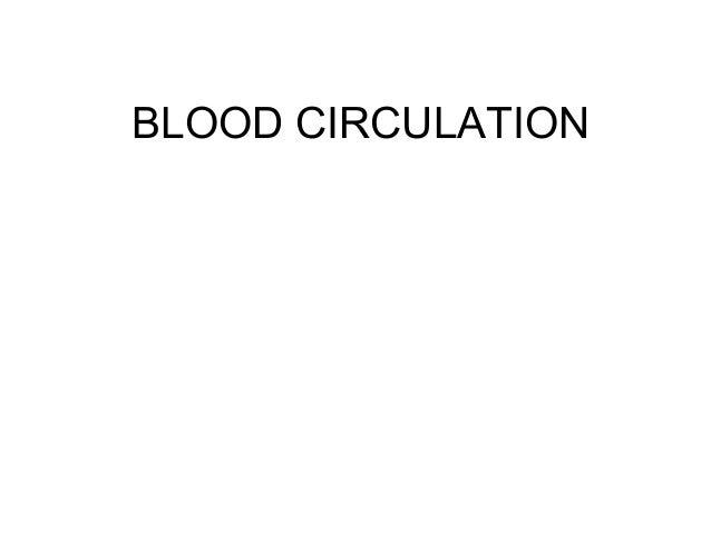 Blood circulation.8