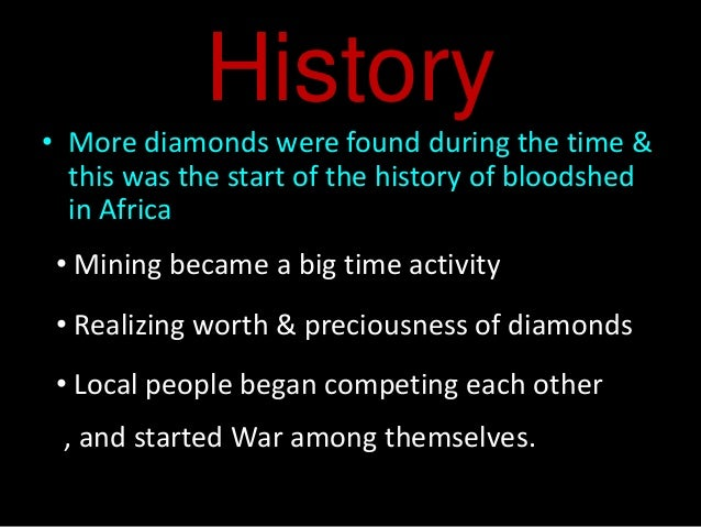 blood diamond essay questions Imagine a world with no war, no racism, no homophobia, no poverty and most importantly- no blood diamond industry the people of africa would be living a life full of safety, love and equality no more violence, no more kidnapping and no more ruf.