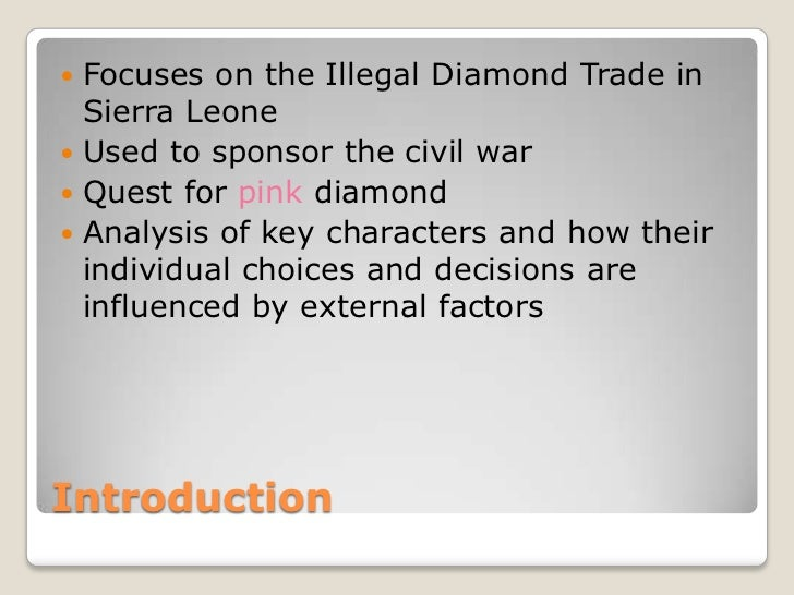 How to write the conclusion to a blood diamond essay?