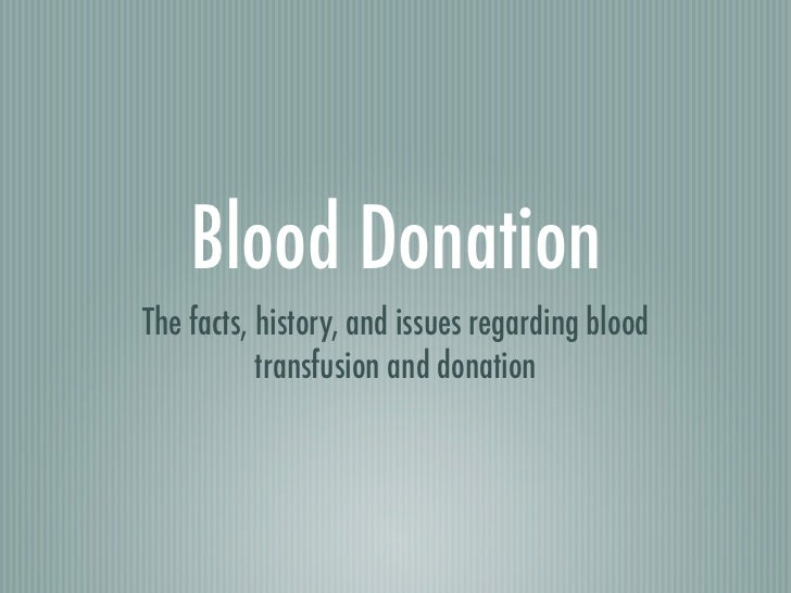Blood donation powerpoint