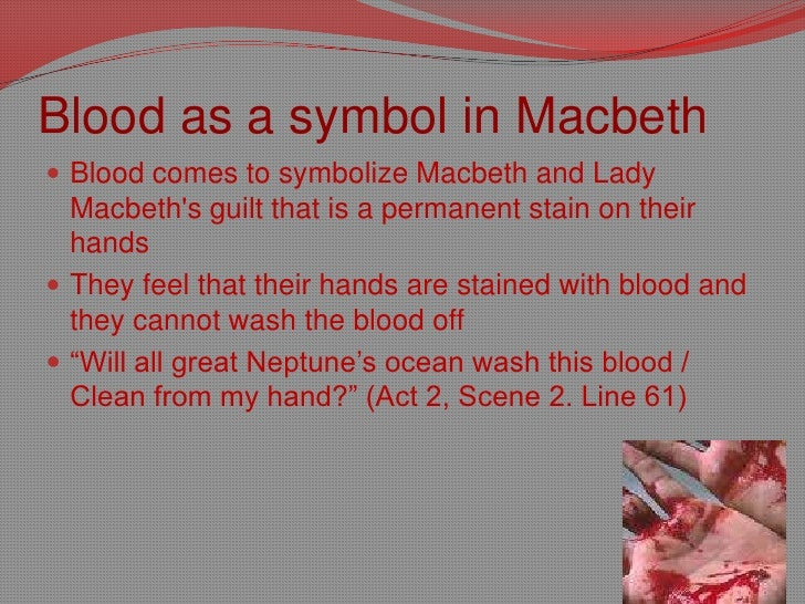 essays on blood imagery in macbeth