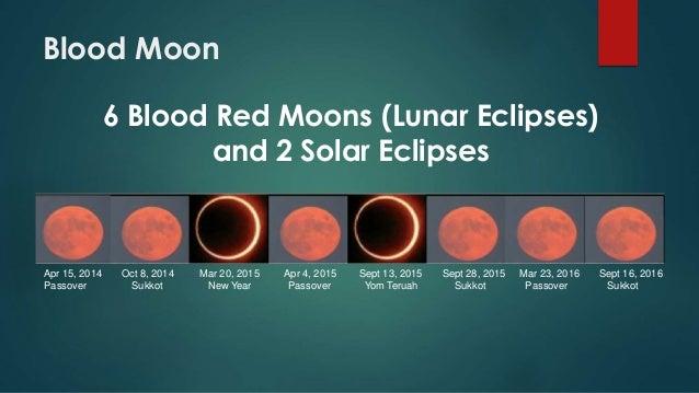 Blood Moon Eclipse 2015 Blood moon apr 15, 2014 oct 8,