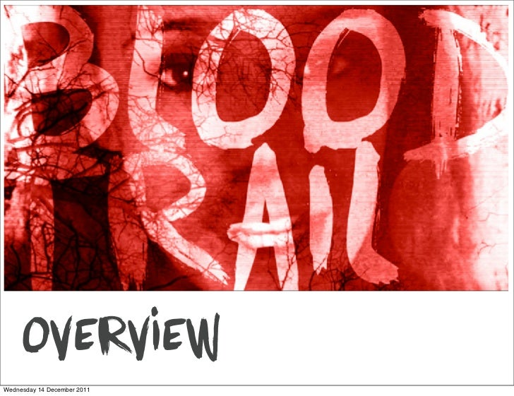 Tips for creating a Blood Trail
