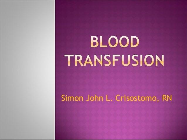 Simon John L. Crisostomo, RN