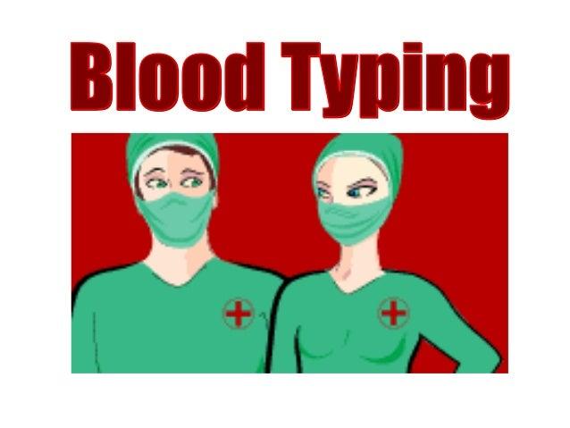 Blood Groups & Blood TypingBlood Groups & Blood Typing
