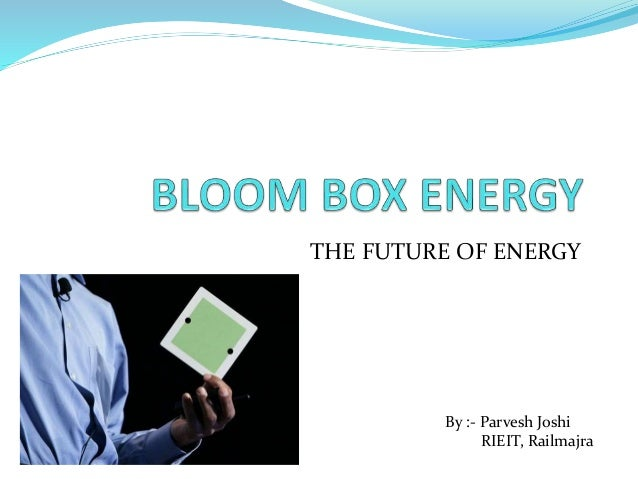 Bloom Box For Home Use