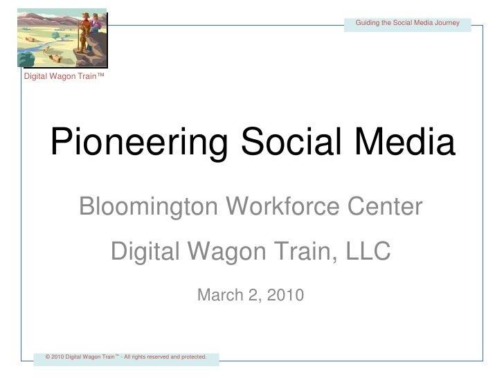 Bloomington Workforce Center