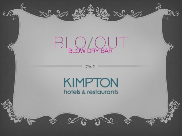 WHAT IS BLO/OUT?