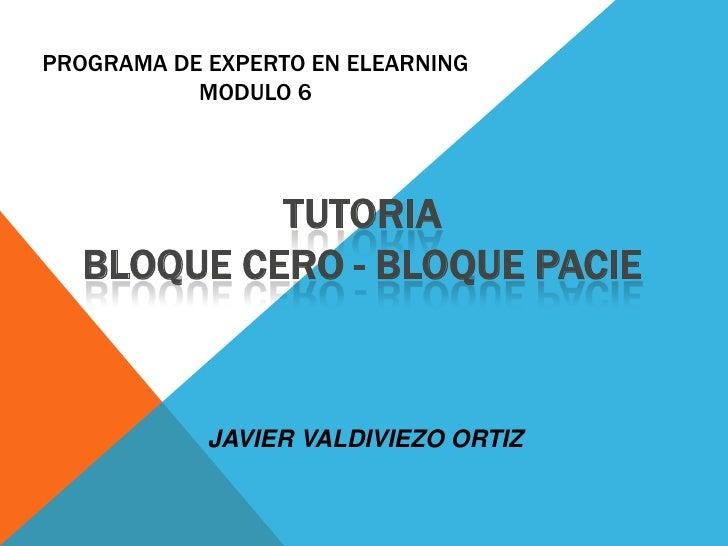 Bloque PACIE- Bloque 0