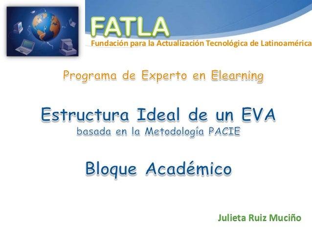 Fundación para la Actualización Tecnológica de Latinoamérica                                  Julieta Ruiz Muciño