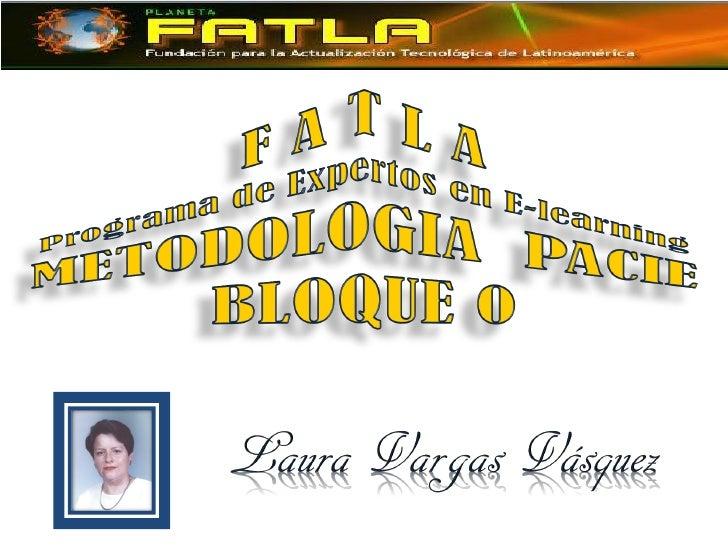 METODOLOGIA   PACIE