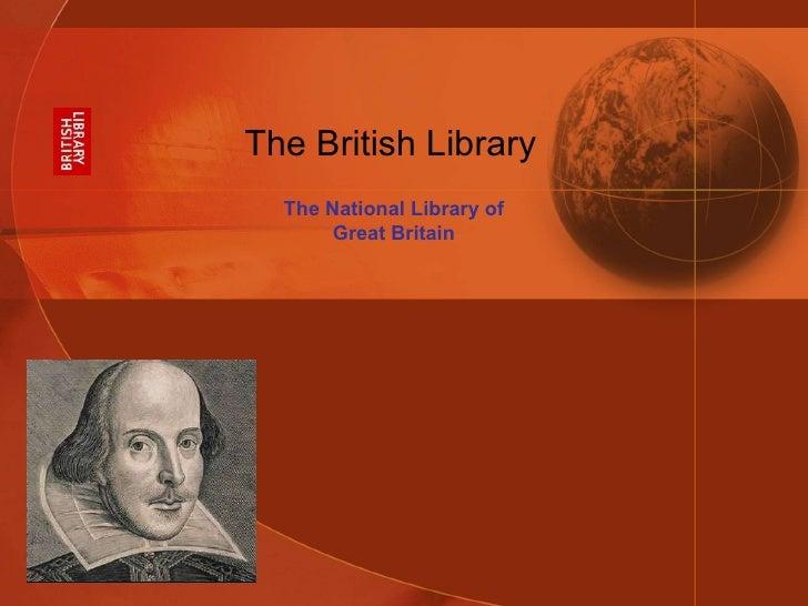 British Library - Presentation