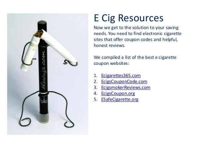 No smoke e cigs