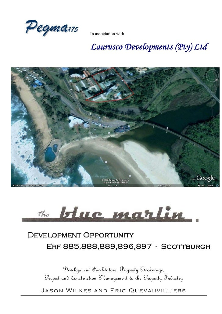 Scottburgh South Africa  City pictures : The Blue Marlin Hotel, Scottburgh, South Africa available for re deve ...