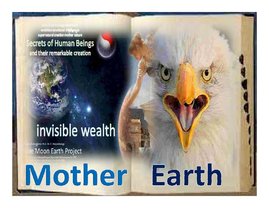Blue Moon Earth Project Mother Earth Creation Supernatural God