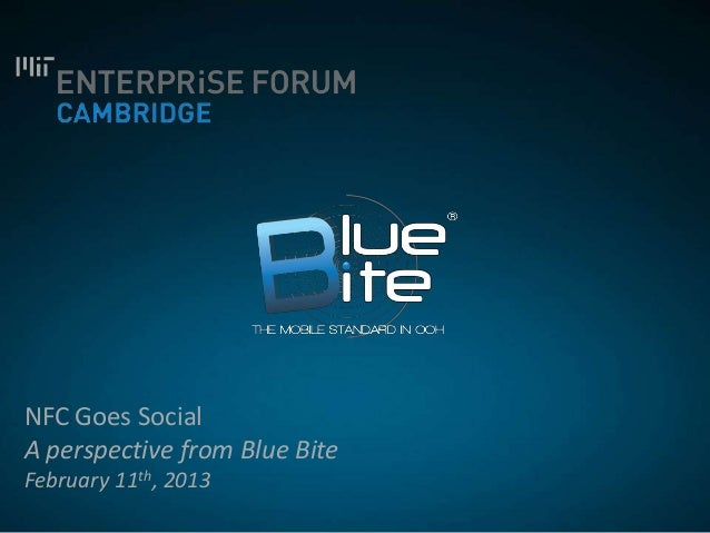 Blue bite mit nfc goes social feb2013
