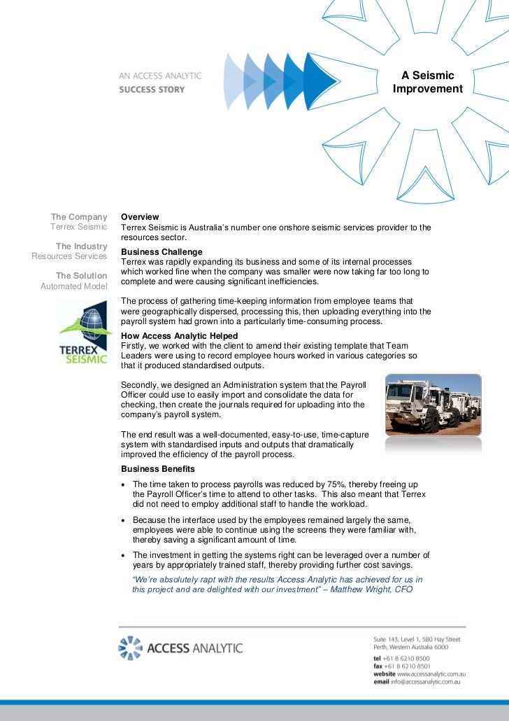 Case Study: A Seismic Shift for Terrex