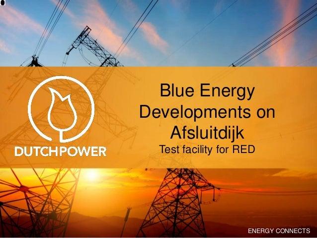 Blue Energy 20 maart 2014 REDstack