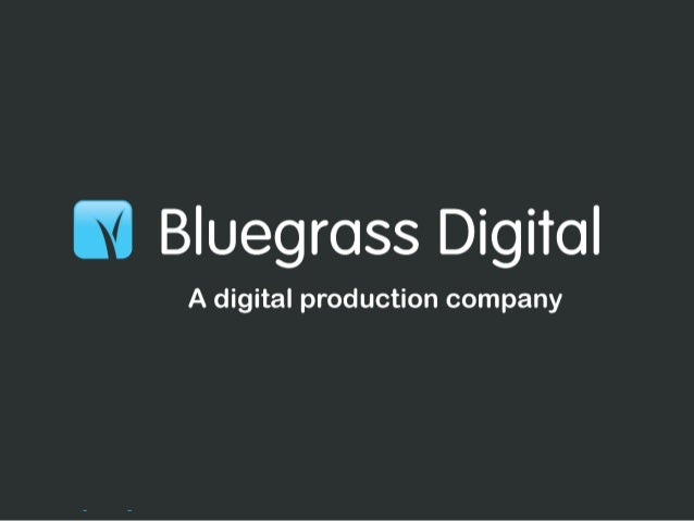 How we use SCRUM @ Bluegrass Digital