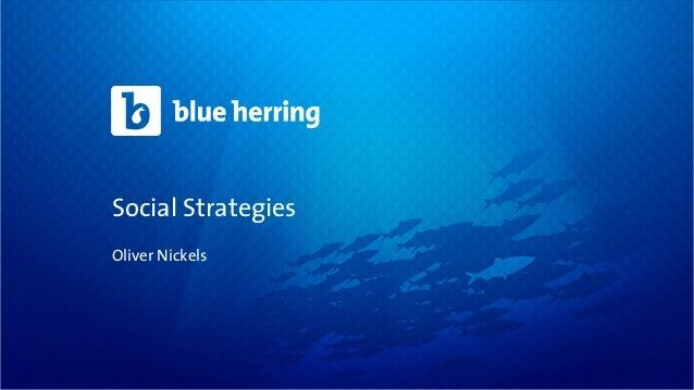 Social StrategiesOliver Nickels