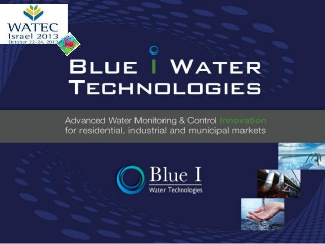Blue I at WATEC 2013