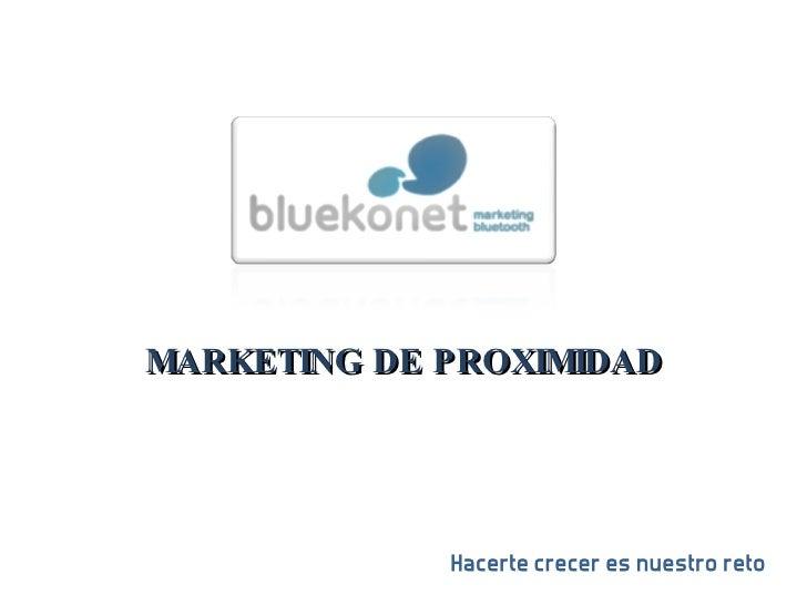 bluekonet, marketing bluetooth