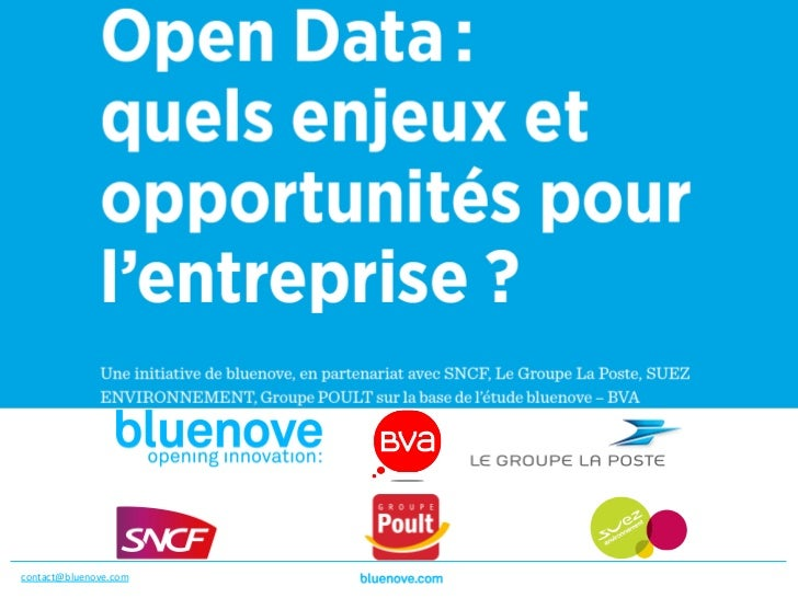 Bluenove_Yoann Gaudry_Open Data