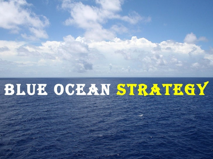 blue ocean strategy presentation