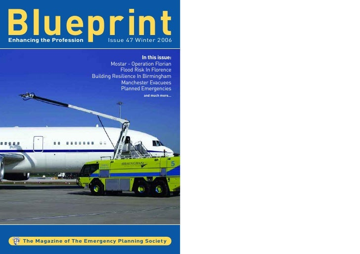 BIueprint Enhancing the Profession          Issue 47 Winter 2006                                                     In th...